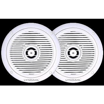 LYNDAHL CS180IP 2 Wege Deckenlautsprecher Einbaulautsprecher Für Badezimmer  Und Dusche Geeignet Durch Schutzklasse IP44 Farbe