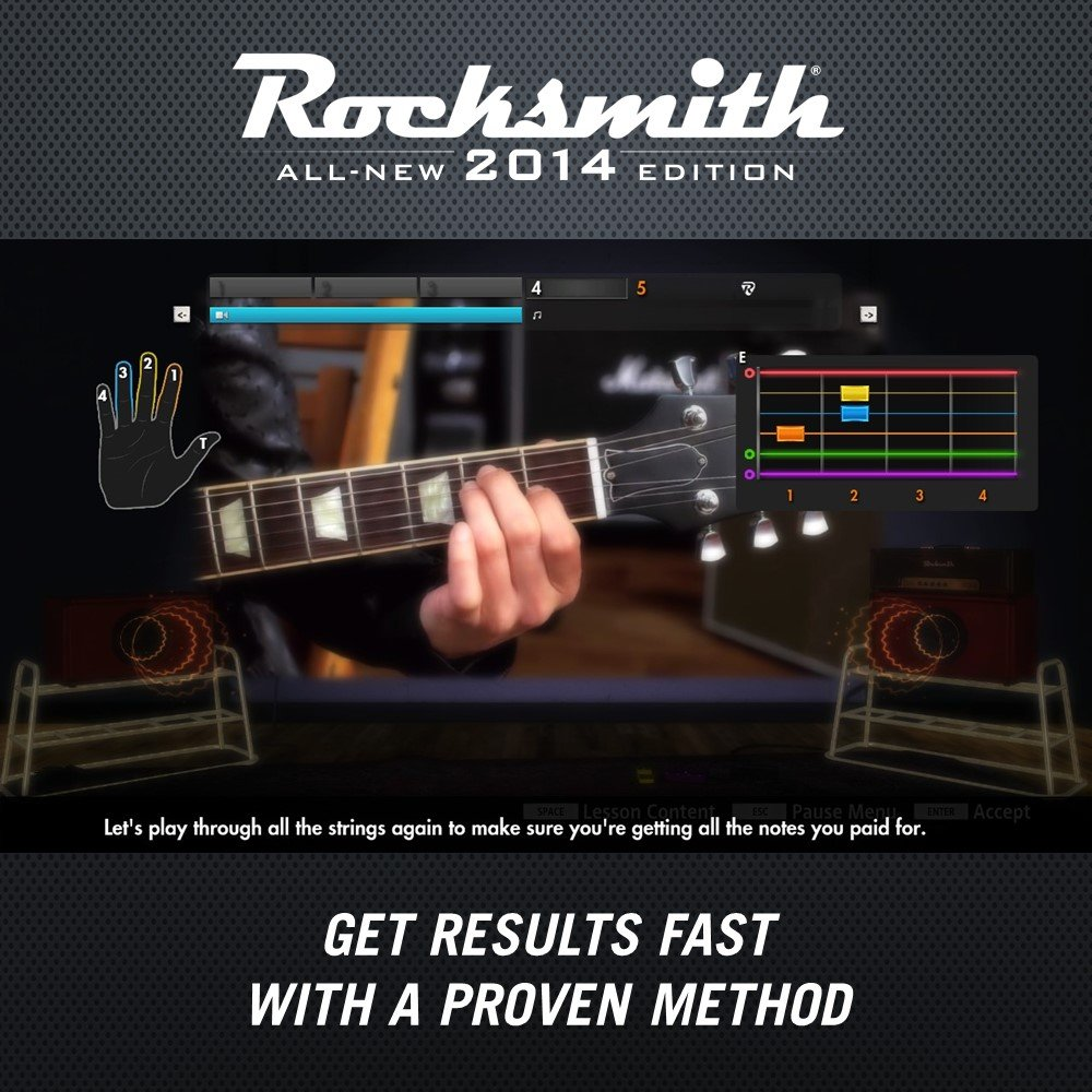 Rocksmith 2014 Edition - Xbox 360 (Cable Included) by Ubisoft (Image #3)