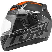 Pro Tork Capacete Evolution G7 Fosco 58 Preto/Laranja