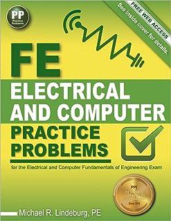 fe electrical and computer review manual michael r lindeburg pe rh amazon com Fe Exam Fe Exam Preparation