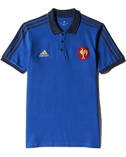 Polo de rugby Homme Adidas bleu re8PH7Qd