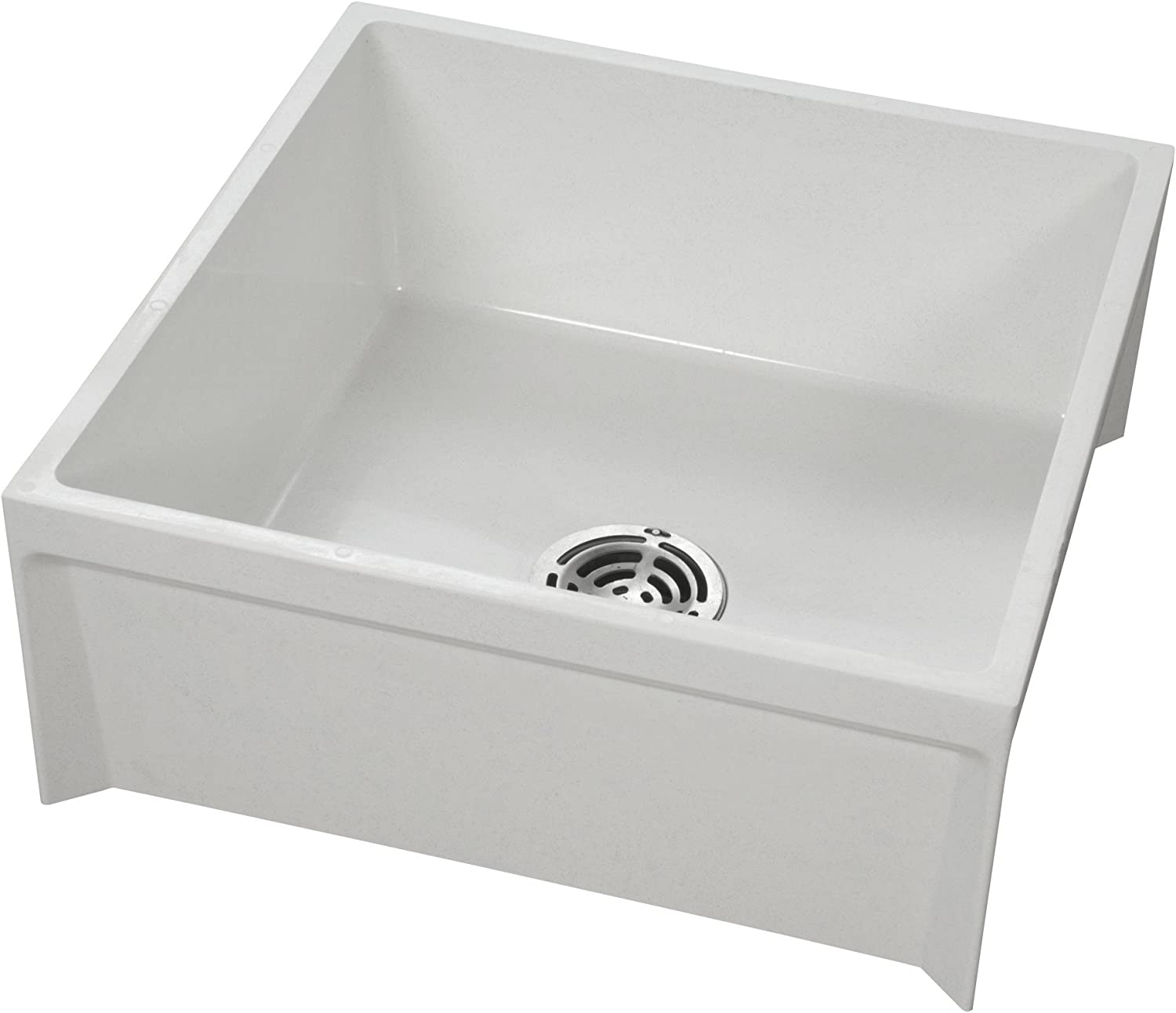 American Standard MSB2424100 Fiat Showers Molded Stone Mop Basin, White