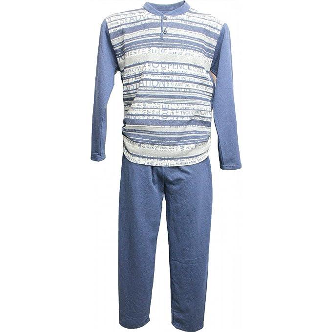 c1309146940877 Offerta Pigiama Uomo Mapom M/48-L/50-XL/52-XXL/54 Micro Cotone Punto Milano  8844: Amazon.it: Abbigliamento