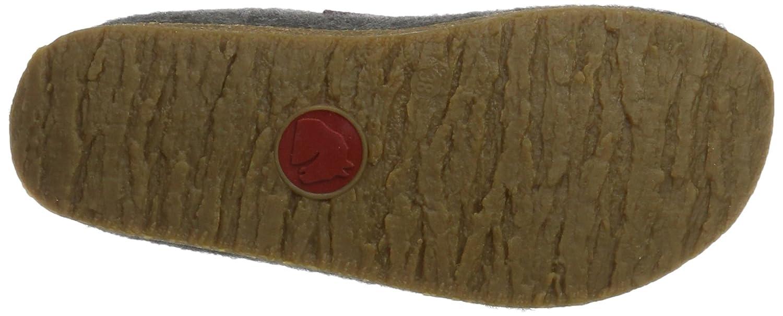 Haflinger Grizzly Jette, Pantofole Unisex Unisex Unisex – Adulto Grigio (Anthrazit 4) c2cd38