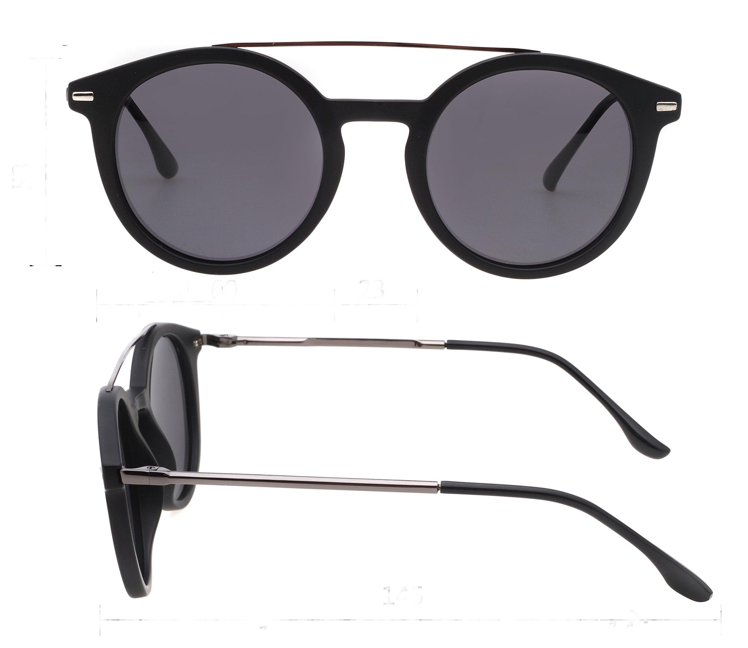9a0d97a2ed Retro Round Polarized Sunglasses for Women Men New Style Fashion Metal  Frame pk1015
