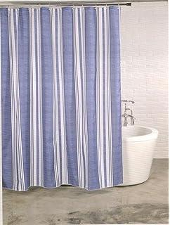 Linenwalas Designer Shower Curtain   6ft, Multicolour