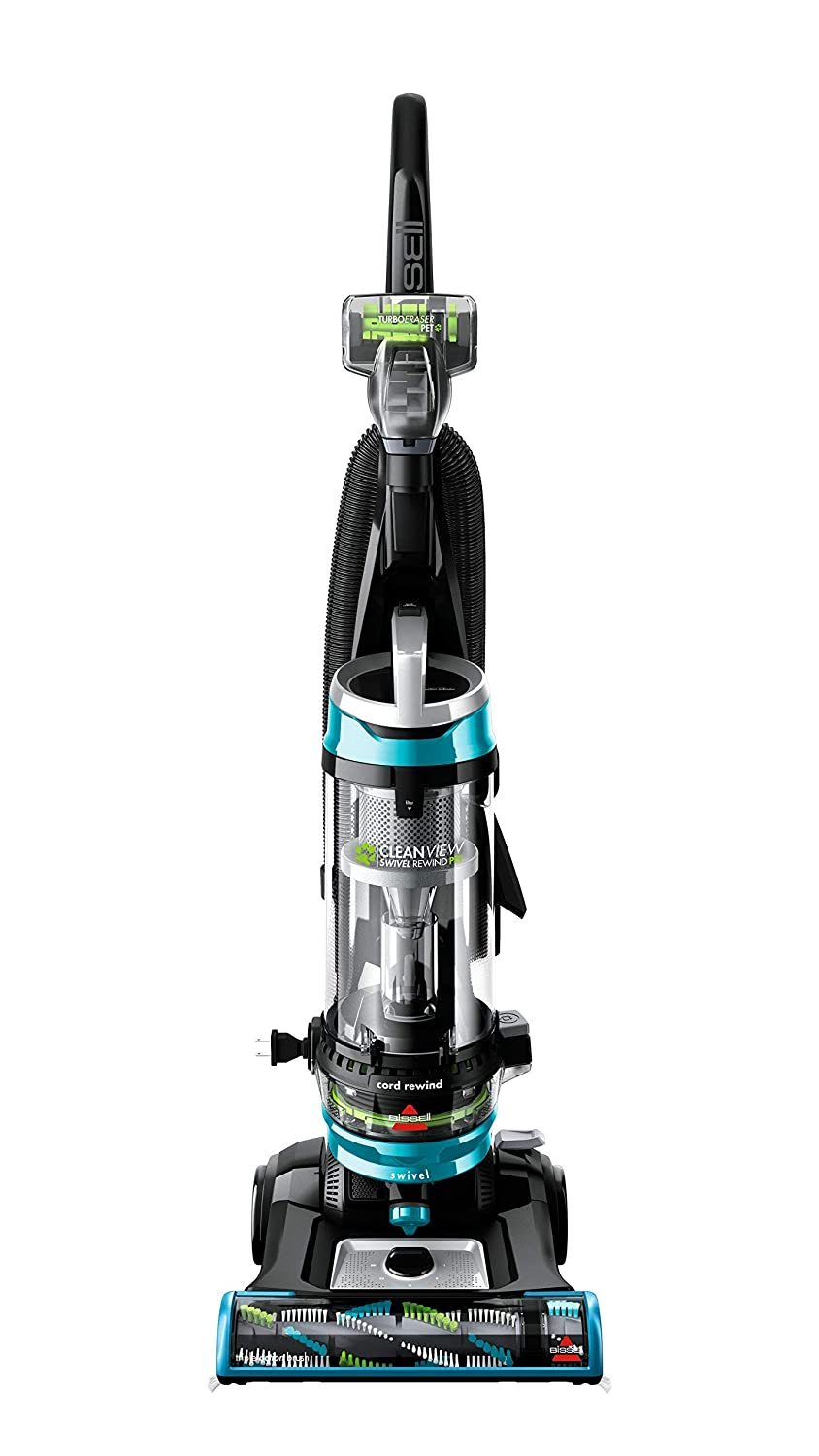 BISSELL Cleanview Swivel Rewind Pet Upright Bagless Vacuum Cleaner (Renewed)