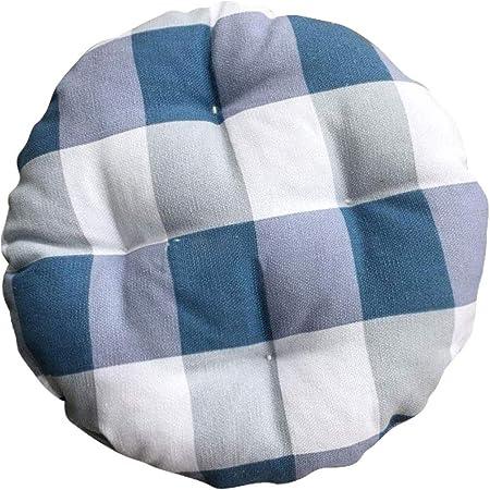 Levoberg - Funda de Taburete Redondo de Tela y algodón, cojín de Asiento Grueso Acolchado para Silla, #4, 30 cm: Amazon.es: Hogar