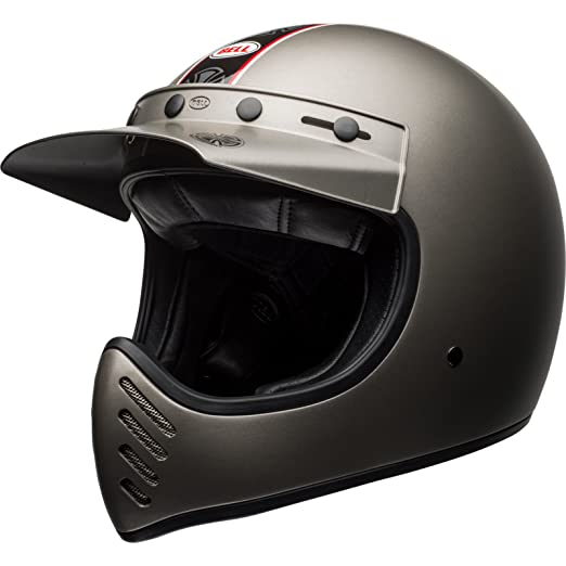 Bell Cascos Cruiser 2017 moto 3 adultos casco, Independiente, Titanio, tamaño mediano: Amazon.es: Coche y moto