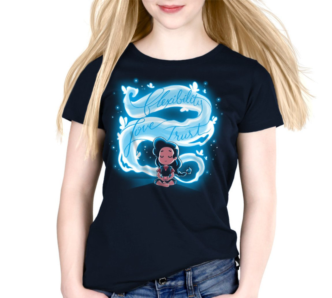 Steven Universe Here Comes a Thought T-Shirt / Women's Relaxed Fit / M