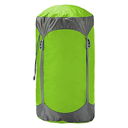 Trekmates Ultralight Compression - Funda de compresión para Saco de Dormir, Color Verde, Talla