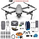 DJI Mavic 2 PRO Drone Quadcopter with Hasselblad Camera HDR Video UAV Adjustable Aperture Bundle Kit with Must Have Accessories