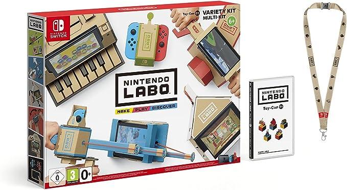 Switch Nintendo Labo: Toy-Con Kit variado + Colgante: Amazon.es: Videojuegos