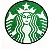 Starbucks Coffee Drink band logo patch Jacket T-shirt Sew Iron on Patch Badge Embroidery