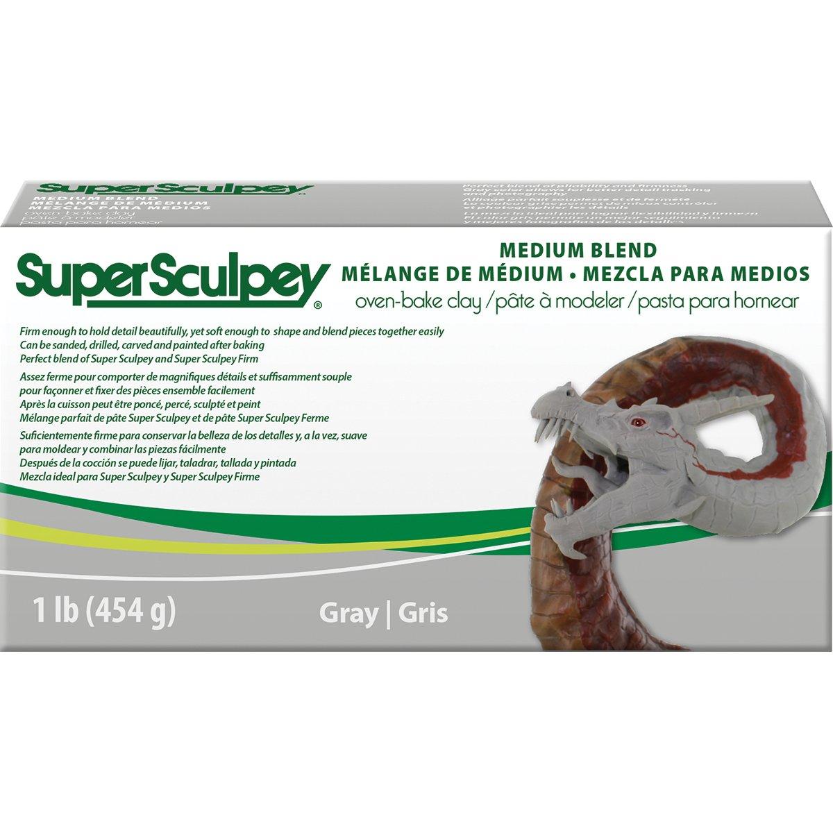 Sculpey SSMED1 Medium Blend by Super Sculpey