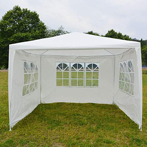 OxiQmart 10 x10 Outdoor Heavy Duty Canopy Party Wedding Tent Gazebo Pavilion Cater Events