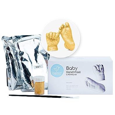 81efaa5c930dd Kit de moulage d empreintes de pieds et mains en 3D pour bébé avec ...