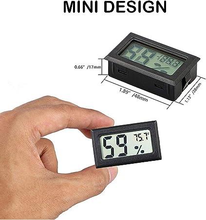 Digitales Thermometer Hygrometer Feuchtigkeitsmesser Raumuhr Q1T1