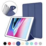 Amazon Price History for:New iPad 2017 iPad 9.7 Inch Case, DTTO Ultra Slim Lightweight Smart Case Trifold Cover Stand with Flexible Soft TPU Back Cover for iPad Apple New iPad 9.7-inch [Auto Sleep/Wake] - Navy Blue