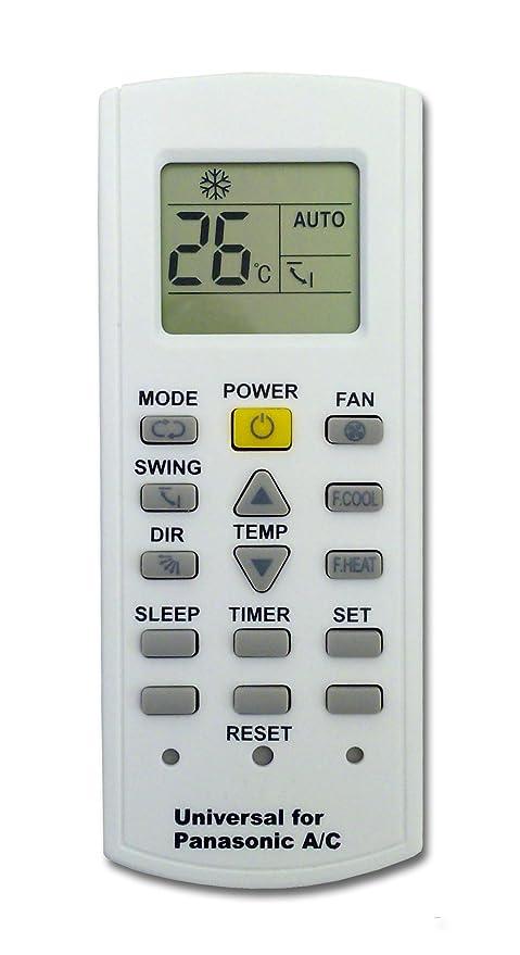 Kt-pn - Mando a distancia para aire acondicionado climatizador Panasonic, bomba de calor