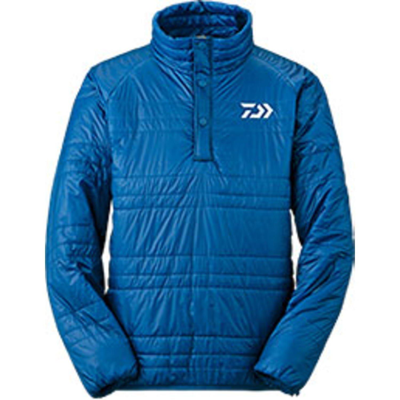 ダイワ プリマロフト ハーフジップアップジャケット DJ-5104 B00N5E6ZDY Medium|ブルー ブルー Medium
