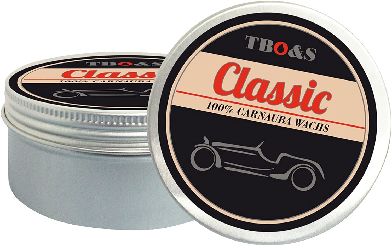 Tbo S Classic Carnauba Wachs 200 G Für Oldtimer Und Youngtimer Speziell Entwickeltes Lackpflegemittel Mit Wachsartiger Konsistenz Auto