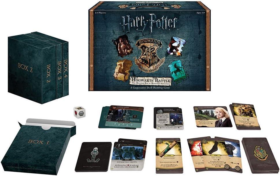 USAopoly Juego de Cartas de Batalla de Harry Potter Hogwarts ...