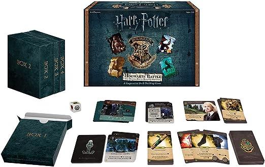 Juego de cartas de batalla de Harry Potter Hogwarts, USAopoly DB010-400 , color/modelo surtido: Game: Amazon.es: Juguetes y juegos