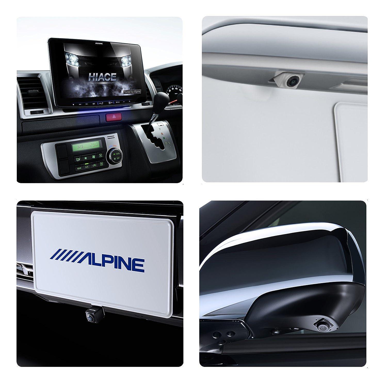 アルパイン(ALPINE) フローティングBIG X 11 3カメラセーフティパッケージ ハイエース 200系 専用 カーナビ 11型 ビッグX リアカメラ色ホワイト <18年モデルアップデート可能> XF11Z-HI-SF3N-W B0779BHMX9