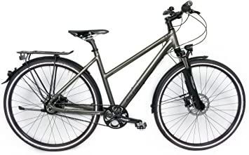 Bicicleta de trekking Raleigh Rush Hour 8.0 Mujer 28 ROHLOFF, 14 ...