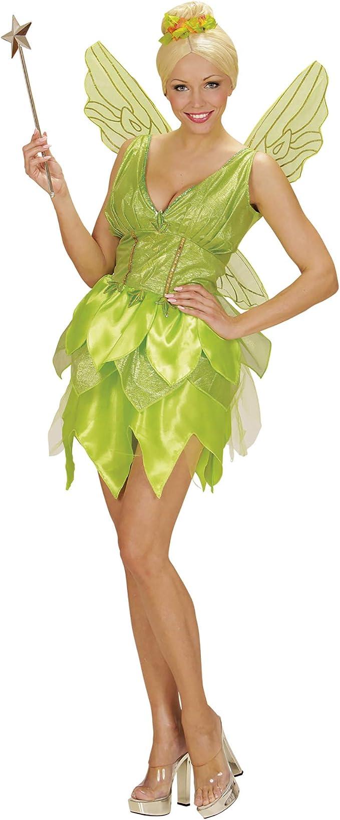 WIDMANN 02292 - Disfraz de Adulto de Hadas Fantasy Vestido, alas ...