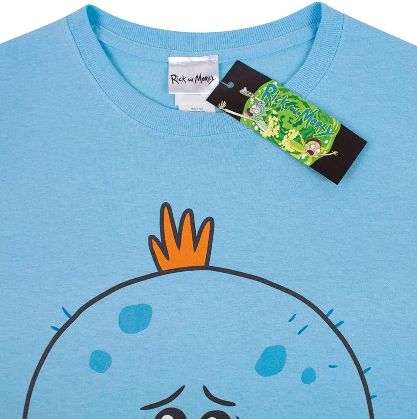 Rick and Morty Mens Meeseeks Existence is Pain T-Shirt
