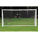Soccer Goalie Net, Full Size, 6 x 4ft / 8 x 6ft / 12 x 6ft / 24 x 8ft for Training Practice Match Training