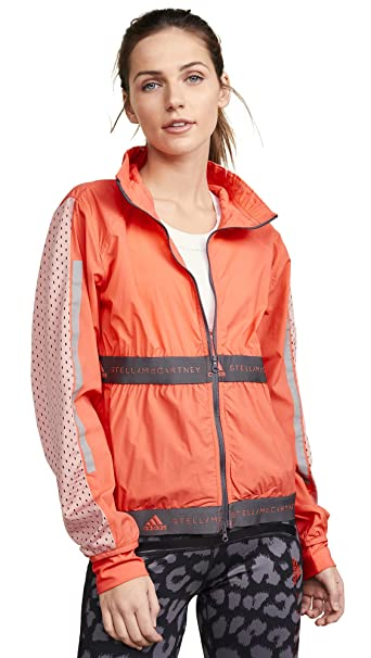 adidas by Stella McCartney Women's Run Light Jacket, Hot