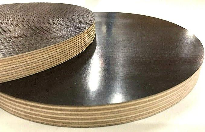AUPROTEC Multiplexplatte 21mm oval 1700 mm x 900 mm Holzplatten von 40cm-200cm ausw/ählbar ovale Sperrholz-Platten Birke Massiv Multiplex Holz Industriequalit/ät z.B als Tisch-Platte