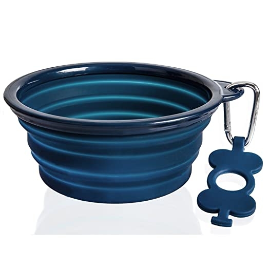 best silicone pet travel bowl