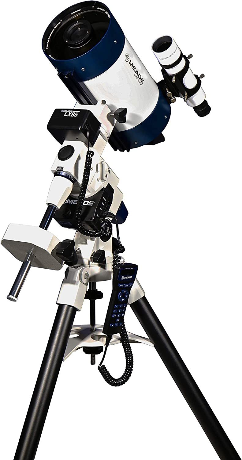 """Meade Instruments Meade LX85 ACF Astrograph, Astronomical Telescope with AudioStar, 6"""" (217005)"""