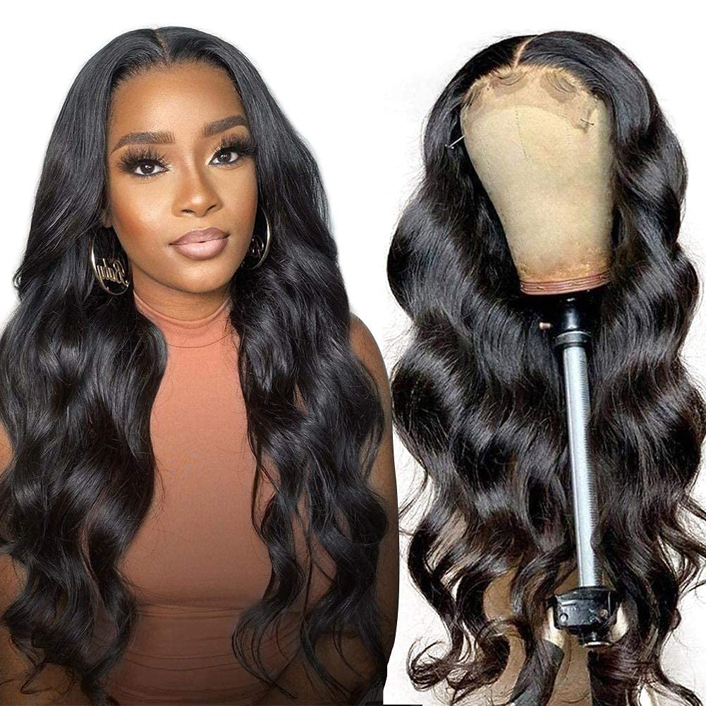 HD wholesale Lace wig Transparent Front Wig Wave Body Wigs 4 years warranty