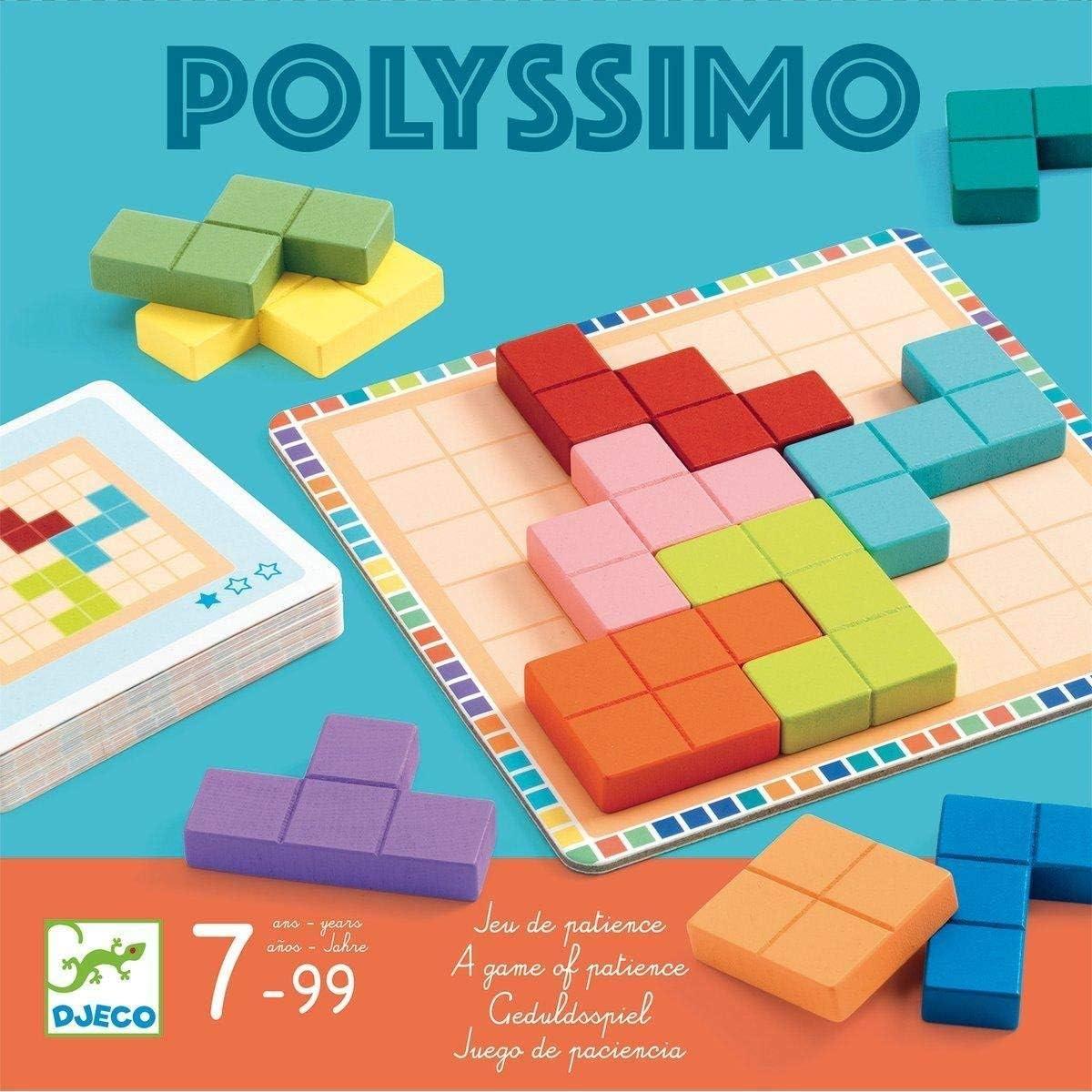 DJECO Polyssimo - Juego de lógica, Multicolor: Amazon.es: Juguetes ...