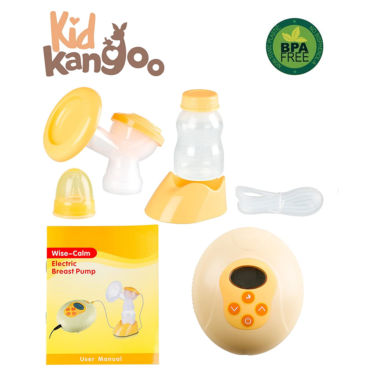 Extractor de leche eléctrico para estimular la lactancia materna Sacaleches con microordenador