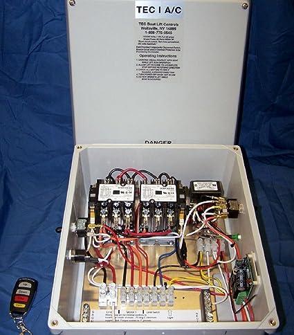 71x9E8Zbi4L._SX425_ amazon com tec ii boat lift remote control sports & outdoors