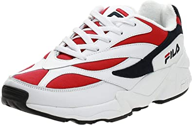 Fila de los Hombres 94 Zapatillas de Deporte Bajas, Blanco: Amazon.es: Zapatos y complementos