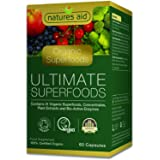 Natures Aid Organic Ultimate Superfoods, 60 Capsules
