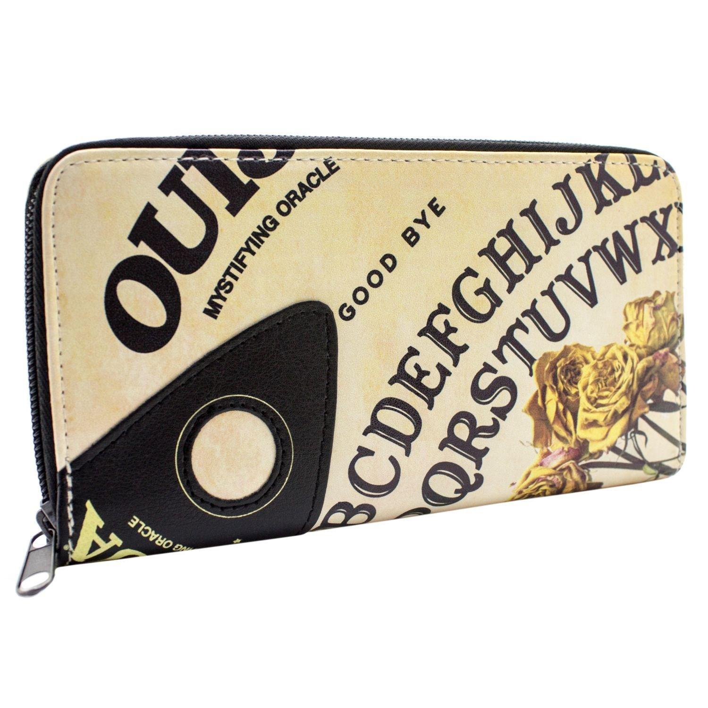 Mystifying Oracle Stile bordo Marrone Portafoglio Ouija 27781