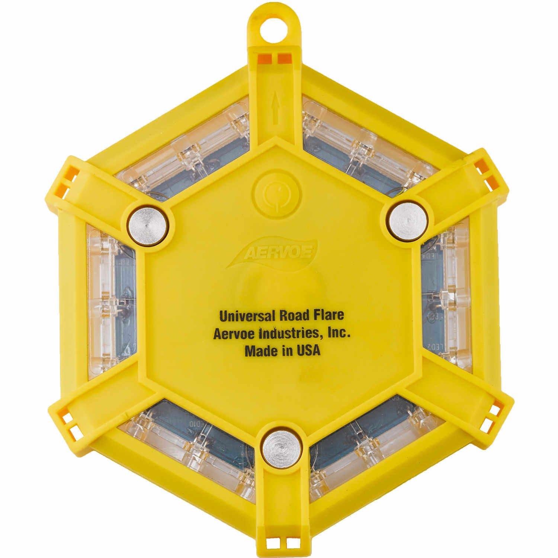 Aervoe Led Road Flare Kit, Yellow