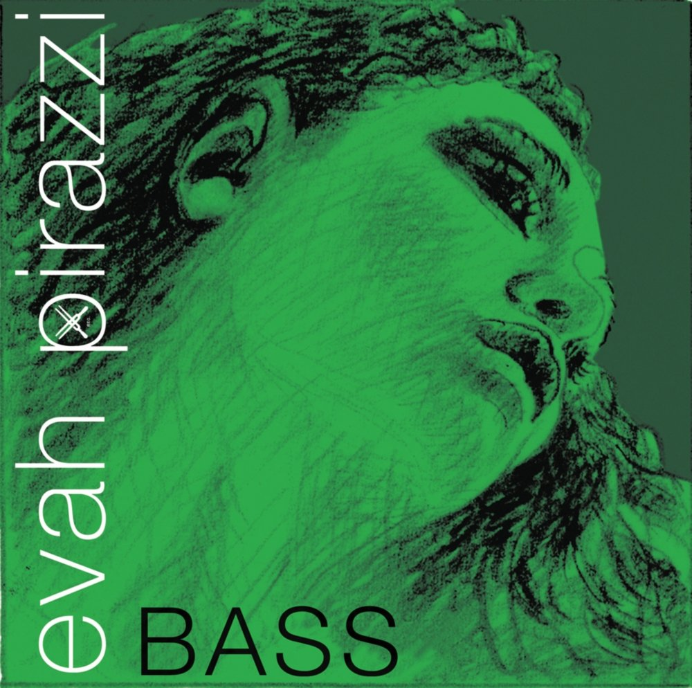 K-BASS EVAH PIRAZZI A1 SOLO KUNSTSTOFF//CHROMSTAHL