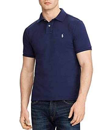 e8ed2af0 Image Unavailable. Image not available for. Color: Polo Ralph Lauren Custom  Slim Fit Mesh ...