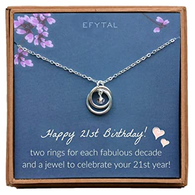 Image Unavailable EFYTAL 21st Birthday Gifts