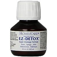 Homeocare Labs EZ-Detox Super Drainage Formula for Liver, Lungs, Skin, Intestines...