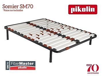PIKOLIN Somier SM70 Laminas de Fibra de Carbono 160 x 200cm: Amazon.es: Hogar